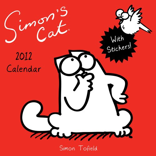 Simon's Cat 2012 Wall