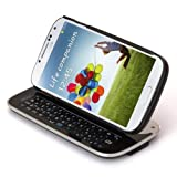 Black Bluetooth Slide Keyboard & Stand Case for Samsung Galaxy S4 S IV i9500