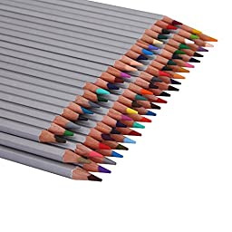 Colored Pencils 72-color Art Drawing Pencils for Artist Sketch / Secret Garden Coloring Book (72 Pcs)