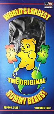 World's Largest Gummi Bear – Blue Raspberry Net Wt. 5LBS