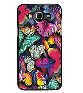 PrintDhaba Butterflies D-5197 Back Case Cover for SAMSUNG GALAXY GRAND MAX (Multi-Coloured)
