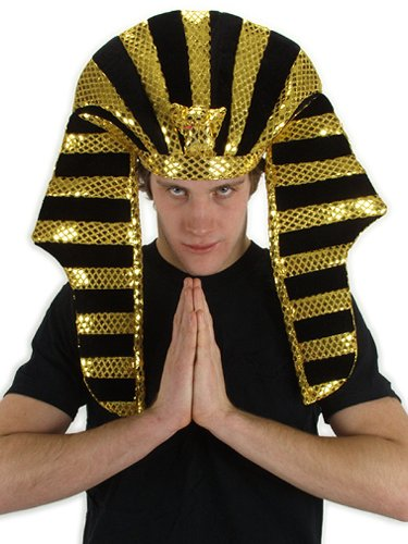 King Tut Costume Accessory Headpiece Nemes Headdress