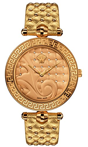 Versace-Womens-VK7190014-Vanitas-Analog-Display-Swiss-Quartz-Gold-Watch