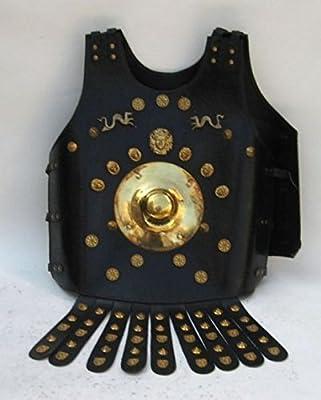 Faux Leather Armor Jacket (L-20002)