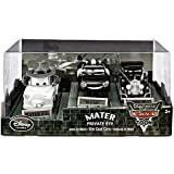 Disney / Pixar CARS TOON Exclusive 148 Die Cast Car 3Pack Maters Private Eye Mater P.I., Lieutenant McQueen Big D