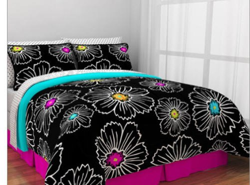 Teen Girl Bedding 5645 back