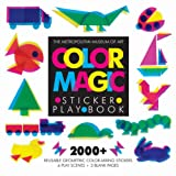 img - for Color Magic Sticker Play Book book / textbook / text book