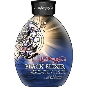 Amazon.com : Ed Hardy Black Elixir Silicone Bronzer Tattoo Fade ...