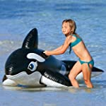 Intex Large Inflatable Whale Ride On...