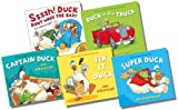 Jez Alborough Duck in the Truck Collection - 5 Books RRP £33.95 (Captain Duck; Duck in the Truck; Fix-It Duck; Ssssh! Duck Don't Wake the Baby; Super Duck)
