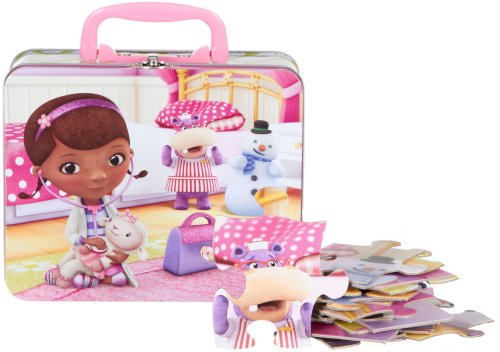 24pc Doc McStuffins Puzzle in Tin Lunch Box