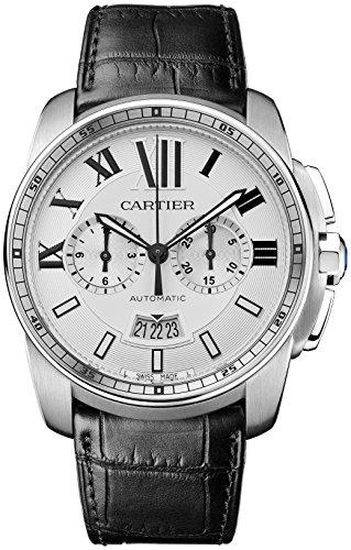 Cartier Calibre de W7100046 Stainless Steel Automatic Ladies Watch