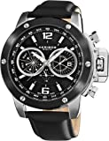 Akribos XXIV Men's AKR469SS Conqueror Multifunction Stainless Steel Watch