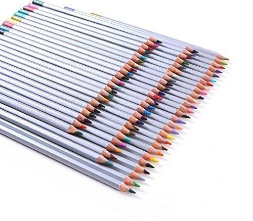 Crayon Couleur,Rixow 72-Couleurs Coloré Crayons , Ensemble de 72 couleurs