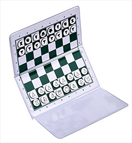 US Chess Checkbook Magnetic Travel Chess Set - by US Chess Federation (Portable Chess Board compare prices)