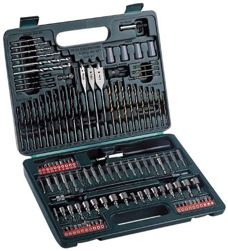 Hitachi Drill and Bit Set 112piece 705315
