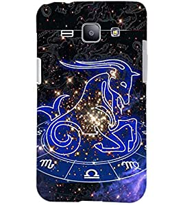 PrintDhaba SUNSIGN D-6696 Back Case Cover for SAMSUNG GALAXY J1 (Multi-Coloured)