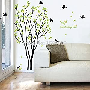 Ay9094 diy tree sticker home decoration for Amazon wall mural