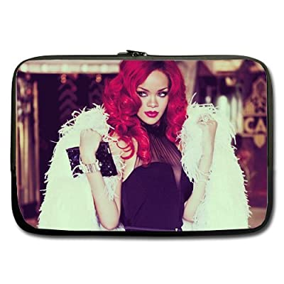 Rihanna Hot Custom computer Sleeve Laptop sleeve For Macbook Pro 15inch (Twin Sides)