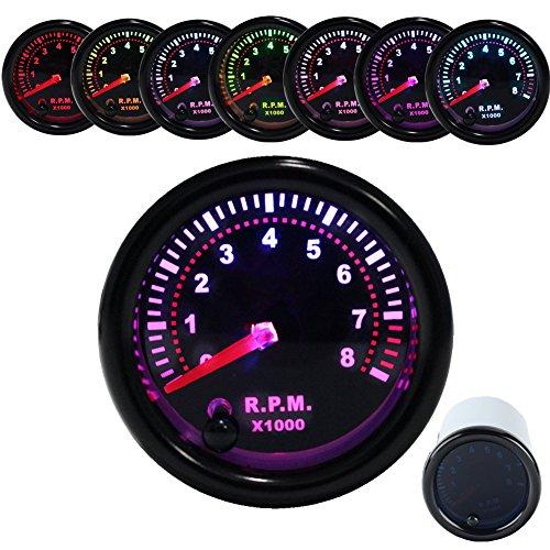 dewhel-smoke-7-colors-led-2-52mm-12v-tachometer-rev-counter-rpm-0-8000-tacho-meters-pointer-universa
