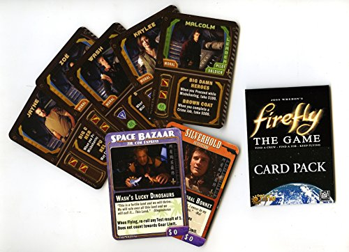 Firefly 7 Card Promo Pack (Big Damn Heroes + Mal's Bonnet & Wash's Dinosaur) - Retail Packaging - 1