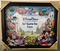 Disney Park Storybook Character 5×7 Shadowbox Colorful Photo Frame Duffy Mickey