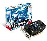 MSI R7 260X 2GD5 OC グラフィックスボード Radeon R7 260X 2GB 日本正規代理店品 VD5171 R7 260X 2GD5 OC