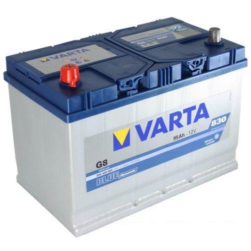 VARTA G8 Blue Dynamic / Autobatterie / Batterie