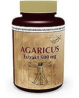 Agaricus blazei extrait 500mg 100 Capsules végétales Polysaccharide 20% Vita World ABM production de pharmacie Allemagne avec certificat d'analyse