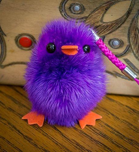 buy-2-get-1-free-lilac-small-fur-cute-chick-baby-bird-fluffy-duck-keyring-pompom-charm-animal-fur-un