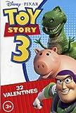 Disney Pixar Toy Story 3 Valentines, Set of 32