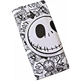 Jack Skellington Long PU Leather White Wallet