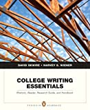 College Writing Essentials: Rhetoric, Reader, Research Guide, and Handbook (0205572537) by Skwire, David