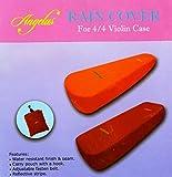 Angelus Rain Cover レインカバー 4/4バイオリン シェルタイプケース用(オレンジ)