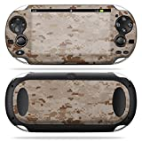 MightySkins Protective Vinyl Skin Decal Cover for PS Vita PSVITA Playstation Vita Portable wrap sticker skins Desert Camo (Color: Desert Camo, Tamaño: Sony PS Vita Playstation)