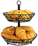 Surpahs 2-Tier Countertop Fruit Basket Stand