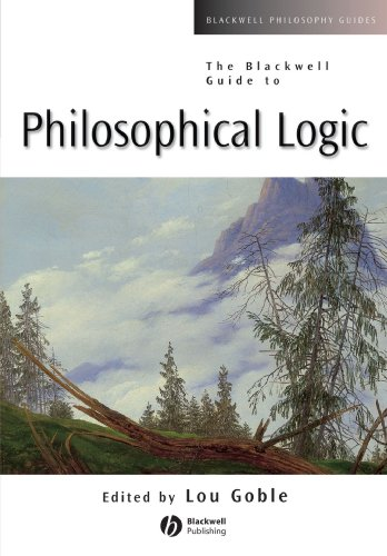 Guide Philosophical Logic (Blackwell Philosophy Guides)
