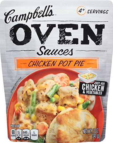 Campbell's Oven Sauces, Chicken Pot Pie, 12 Ounce (Pack of 6) (Pot Pie Sauce compare prices)