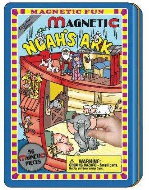 Noah's Ark Magnetic Fun Tin