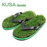 KUSA Flip Flops サンダル 芝生サンダル 人工芝 素足用 ビーチサンダル Mサイズ ブランド袋付き 正規品