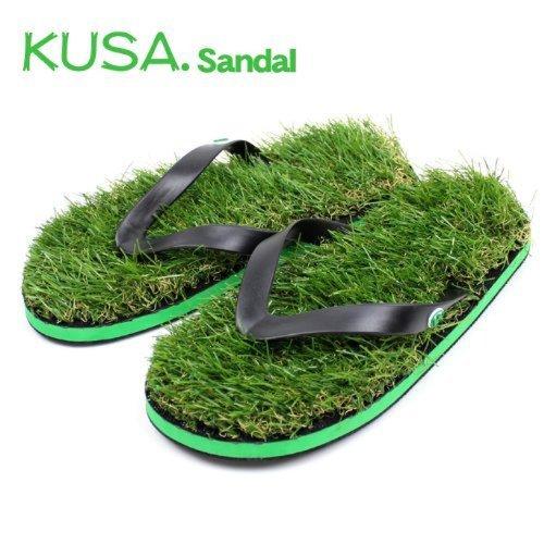 KUSA サンダル 芝生サンダル 人工芝 裸足用 素足用 ビーチサンダル Lサイズ