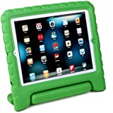 HDE Kids Light Weight Shock Proof Handle Case for iPad 2/3/4 (Green)