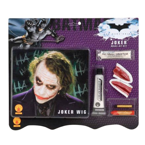 joker with no makeup. Deluxe Joker Make up Kit with