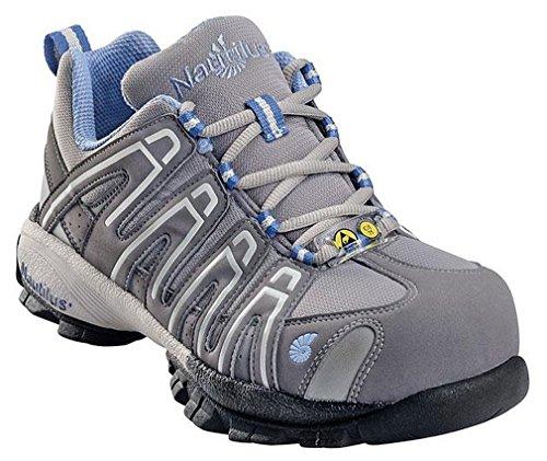 Nautilus Safety Footwear Women'S 1391 Work Shoe,Grey,7 M Us