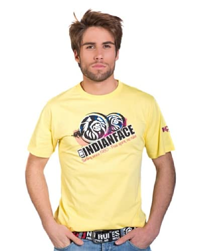 The Indian Face Camiseta Cuello Redondo