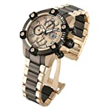 Invicta Mens Reserve Arsenal Swiss Made Valjoux 7750 Automatic Two Tone Bracelet Watch 13984