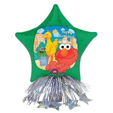 Sesame Street Balloon Birthday Centerpiece - 1
