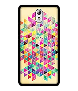 Chnno 2d pattern Printed Back Cover For Lenovo Vibe P1M No- 1358