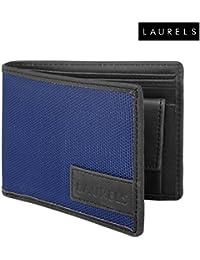 Laurels Colors Blue Color Men's Wallet (Lw-Clr-0302)