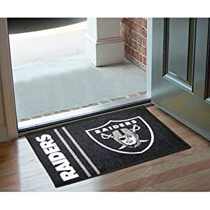 Fanmats Oakland Raiders Uniform Inspired Starter Rug by Fanmats